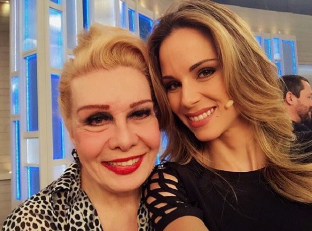 Ana Furtado com ela (Foto: Instagram)