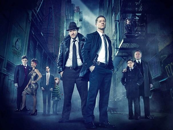 Na série Gotham, que a Globo exibe a partir do dia 3 de agosto, você conhece a história dos supervilões da DC Comics (Foto: Divulgação)