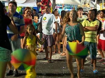 Veja como foi a primeira noite do carnaval no Rasgadinho em Aracaju (Veja como foi o primeiro dia do carnaval no Rasgadinho em Aracaju (Reprodução/TV Sergipe))