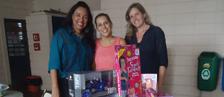 Divisão de RH e Instituto EPTV doam brinquedos (Divulgação/EPTV)
