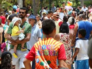 Cidade da Criança foi reaberta após seis anos interditada (Foto: Demis Roussos/Assecom)