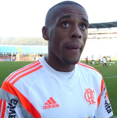 Marcelo, Zagueiro Flamengo (Foto: Cahê Mota)