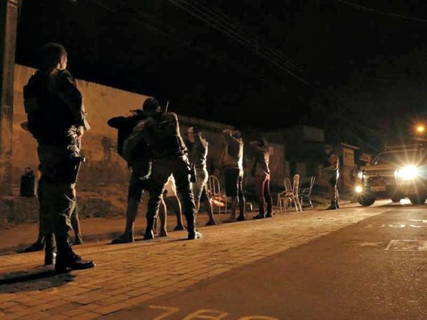 Segurança não registra nenhuma ocorrência durante a noite (Foto: Divulgação/PM-AC)