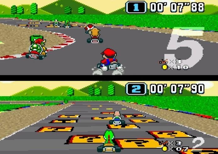 Melhores jogos de corridas do SNES: Super Mario Kart (Fonte: Reprodução/nintendolife.com) (Foto: Melhores jogos de corridas do SNES: Super Mario Kart (Fonte: Reprodução/nintendolife.com))