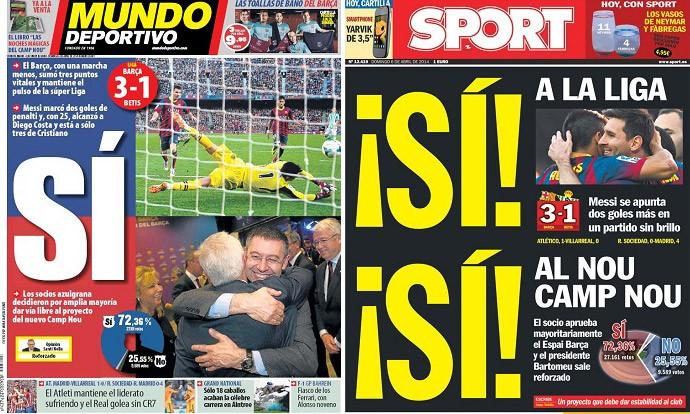 capas de jornais 06-05