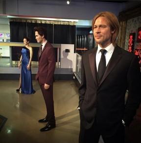 Museu separa estátuas de cera de Angelina Jolie e Brad Pitt após divórcio (Foto: Reprodução / Twitter)