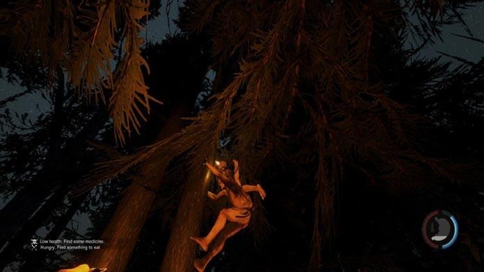 Os mutantes são rápidos e podem subir em árvores (Foto: Reprodução/Tais Carvalho)