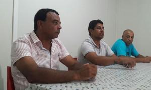 Nei César, Tony Montalvão e Alexandre Teixeira (Foto: Renato Giansante/Itaporã)