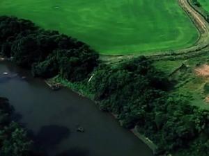 Reservatórios água RS (Foto: Reprodução/RBS TV)