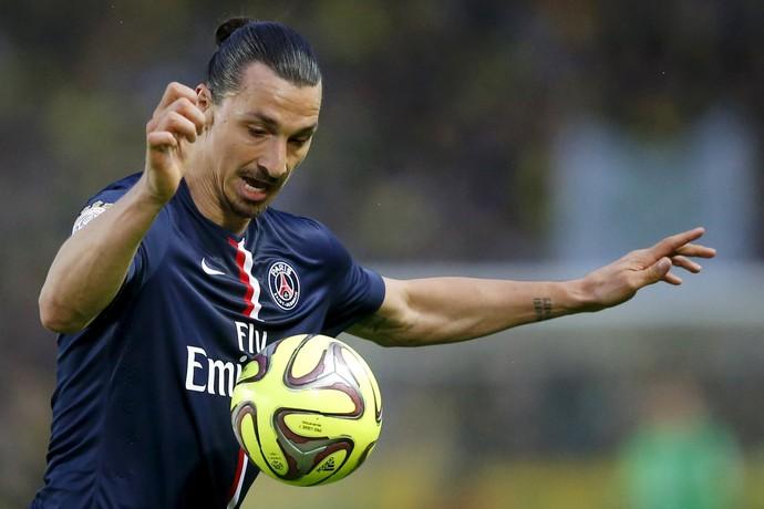 Ibrahimovic PSG Nantes (Foto: Stephane Maher/Reuters)