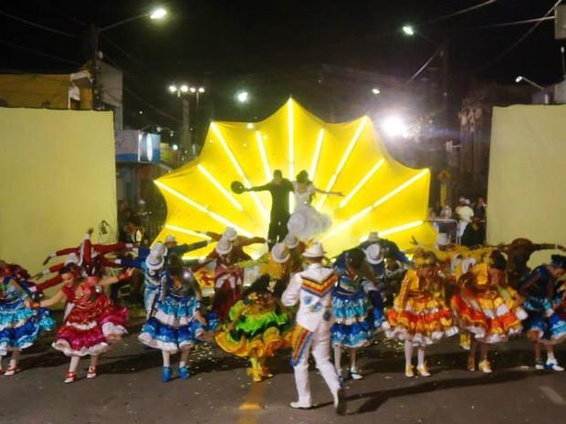 Quadrilha Trilha Junina se apresenta em Campina Grande (Foto: Bruno Rocha / Arquivo Pessoal)