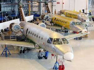 Embraer Legacy 450 (Foto: Divulgação/Embraer)