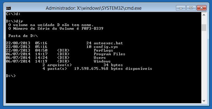 Verificando partição em que o Windows está instalado (Foto: Reprodução/Helito Bijora)