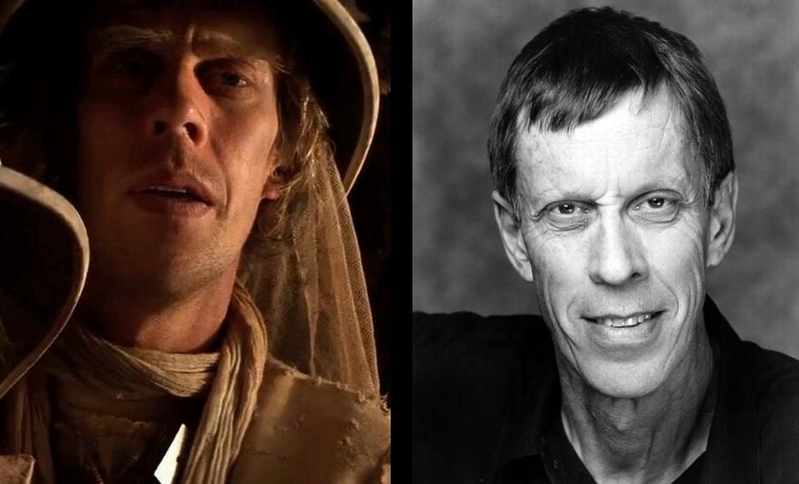 Bruce Spencer em 1985 e 2015 (Foto: Divulgação)