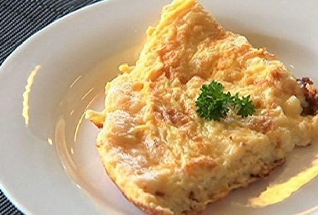 Omelete de queijo (Foto: GNT)