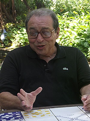 Ruy Castro participa de debate na Fliporto, em Olinda. (Foto: Fabíola Blah / G1 PE)