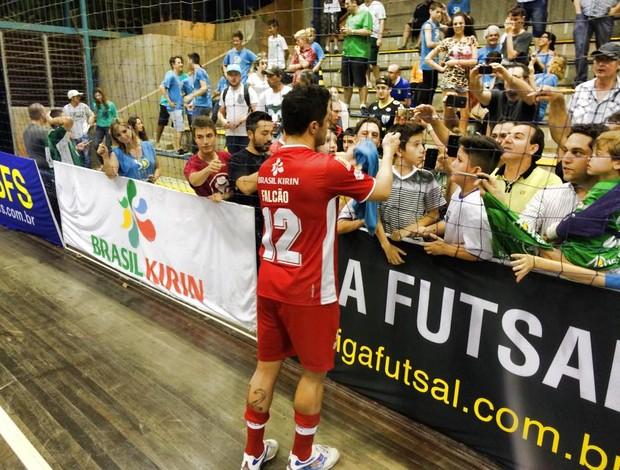 Falcão Sorocaba Blumenau Liga Futsal (Foto: Divulgação)