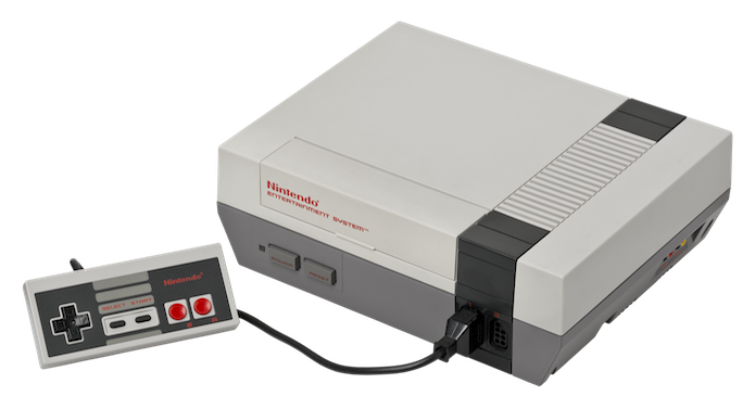 O NES foi lançado em 1983 e ocupa a 10ª posição entre os videogames mais vendidos (Foto: Reprodução/Wikipedia)