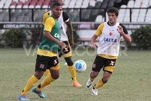 jogadores Vasco treino (Foto: Marcelo Sadio / Flickr do Vasco)