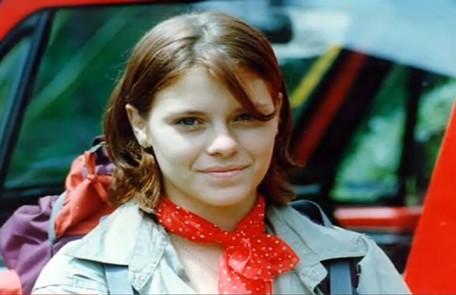 Carolina Dieckmann foi July na estreia da novela, em 1995 Reprodução da internet