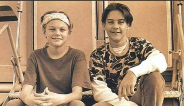Tobey Maguire e Leonardo DiCaprio (Foto: .)