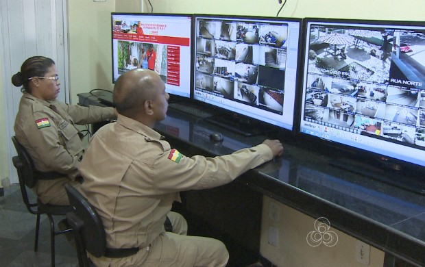 Monitoramento é realizado pela Guarda Municipal de Macapá (Foto: Amapá TV)