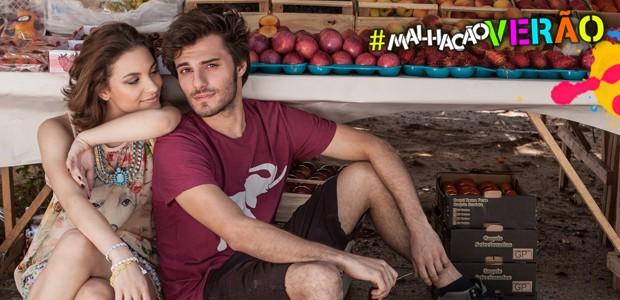 Lais Pinho e Hugo Bonemer em ensaio exclusivo (Foto: TV Globo / Malhação)