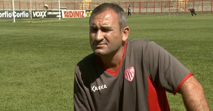Geraldo Meira, técnico do Mogi Mirim (Foto: Carlos Velardi/ EPTV)