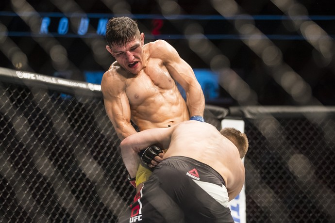 Damir Hadzovic venceu Marcin Held por nocaute aos 7s do R3  (Foto: Getty Images)