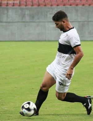 Zagueiro Alan foi confirmado no dia 26 de dezembro pelo Real Ariquemes como um dos reforços.  (Foto: Ronis Silva/ divulgação )