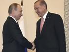 Erdogan agradece Putin apoio após tentativa de golpe