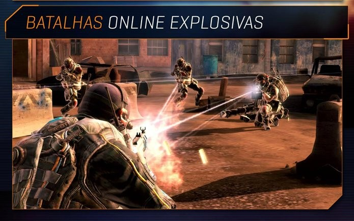 Game de tiro com partidas online, mas possibilidade de jogar offline (Foto: Divulgação)