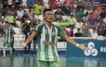 Autor de gol da vitória do A. do Alfredo se emociona com título da Copa Rede