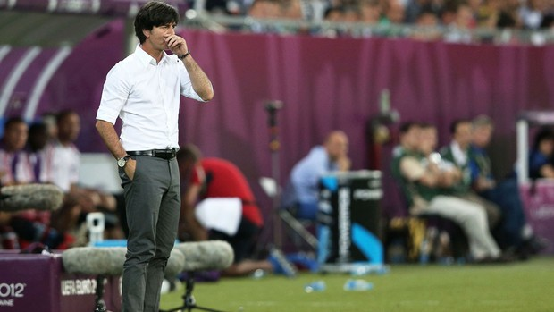 Joachim Low - Dinamarca X Alemanha (Foto: Getty Images)