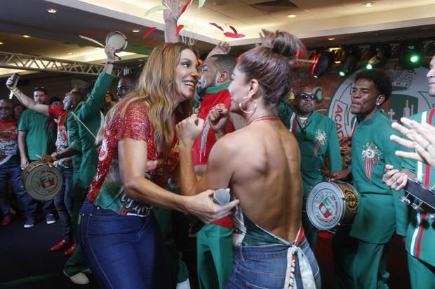 Ivete e Juliana Paes  (Foto: Rodrigo dos Anjos / Daniel Pinheiro / AgNews)