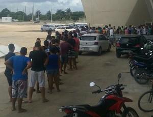Venda de ingressos no Almeidão para jogo Botafogo-PB x Sport (Foto: Divulgação/Botafogo-PB)