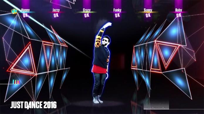 Dance Blame de Calvin Harris e John Newman usando seu smartphone como controle (Foto: Reprodução/YouTube)
