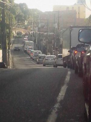 Trânsito na Federação (Foto: Allan Fonseca/Arquivo Pessoal)