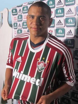 Fluminense apresenta Walter (Foto: Richard Souza)