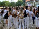 Estudantes da Ufes fazem protesto pedindo vacina contra gripe