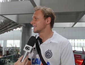 Micael, zagueiro do ASA (Foto: Leonardo Freire/GLOBOESPORTE.COM)