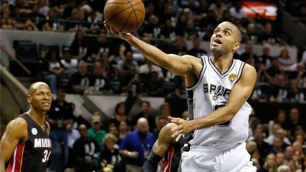 Jogo 5 Miami Heat San Antonio Spurs Tony Parker (Foto: Getty Images)