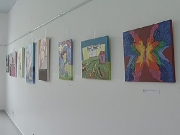 Exposição está aberta à visitação até o dia 31 de outubro.  (Foto: reprodução/TV Tem)