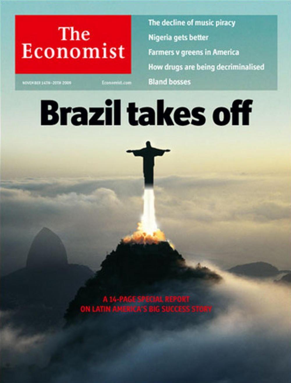 Capa da The Economist de 2009 (Foto: Divulgação)