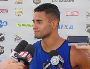 Kayke, atacante do ABC (Foto: Carlos Cruz/GloboEsporte.com)