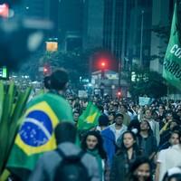SP: protesto está na Paulista e em palácio (Flavio Moraes/G1)