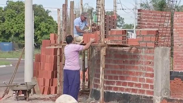 Furto de materiais de construção está mais frequente em Itapetininga (Foto: Reprodução/TVTEM)