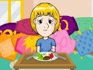 Animação Huck quandro criança (Foto: Caldeirão do Huck/TV Globo)