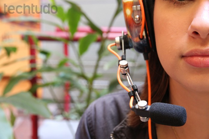 O microfone removível é um dos pontos fortes do Battlefield 4 Razer BlackShark (Foto: Luciana Maline/ TechTudo)