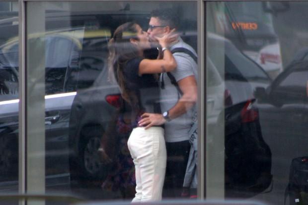 Ronaldo e Paula Morais (Foto: Jc Pereira /Foto Rio News)